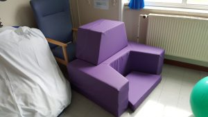 mini-birth couch kit at Shrewsbury