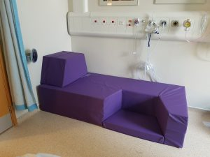 birth couch kit in obstetric unit